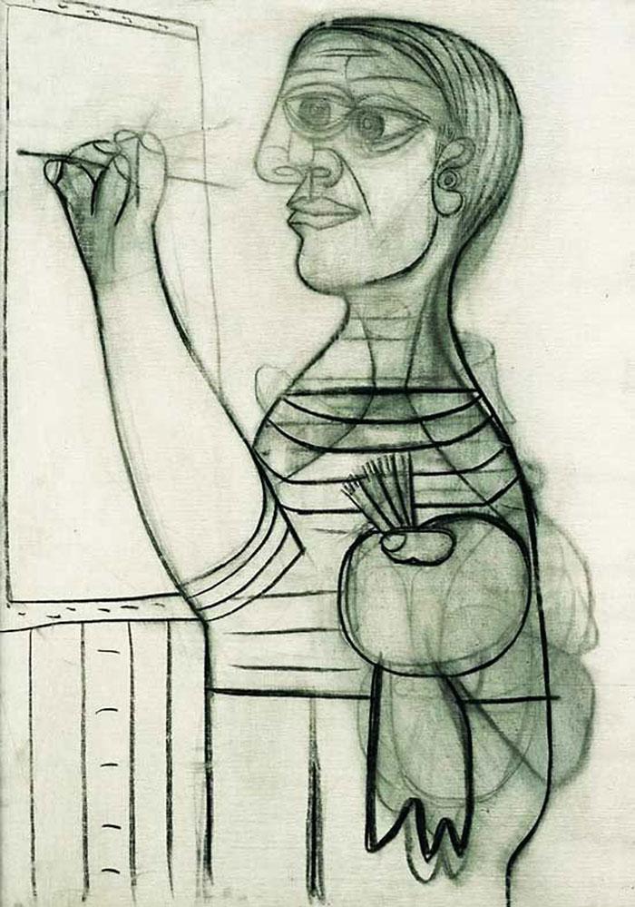 autoportretul lui Picasso 7