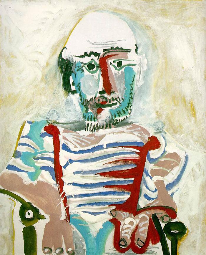 autoportretul lui Picasso 8