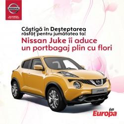 Fiecare dimineaţă aduce răsfăţ pentru jumătatea ta cu ajutorul unui Nissan Juke – VIDEO