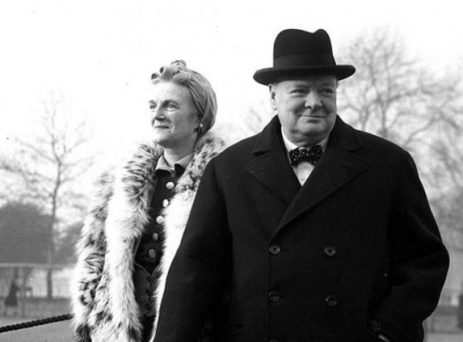 Clementine si Winston Churchill