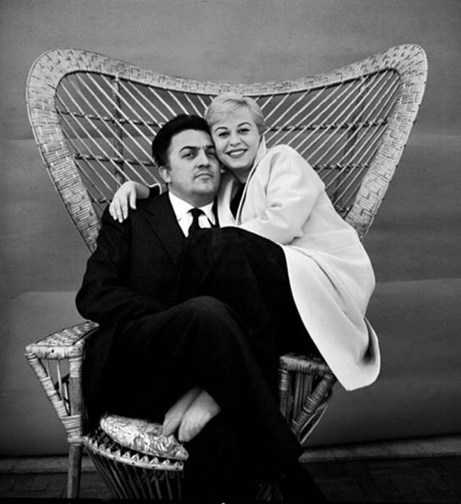 Giulietta Masina si Federico Fellini