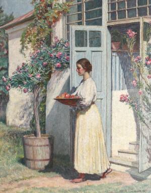 Grădina cu leandri de Samuel Mutzner