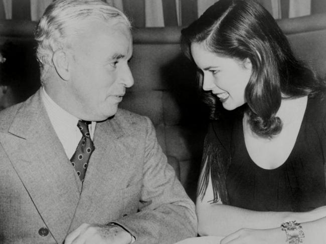 Oona O'Neill si Charlie Chaplin