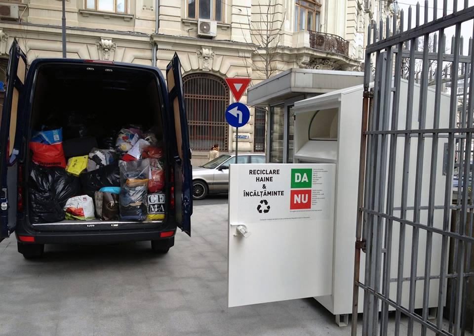 nouă online aici pret ieftin Containerul cu haine din București a adunat peste 700 kg de îmbrăcăminte în  5 zile : Europa FM