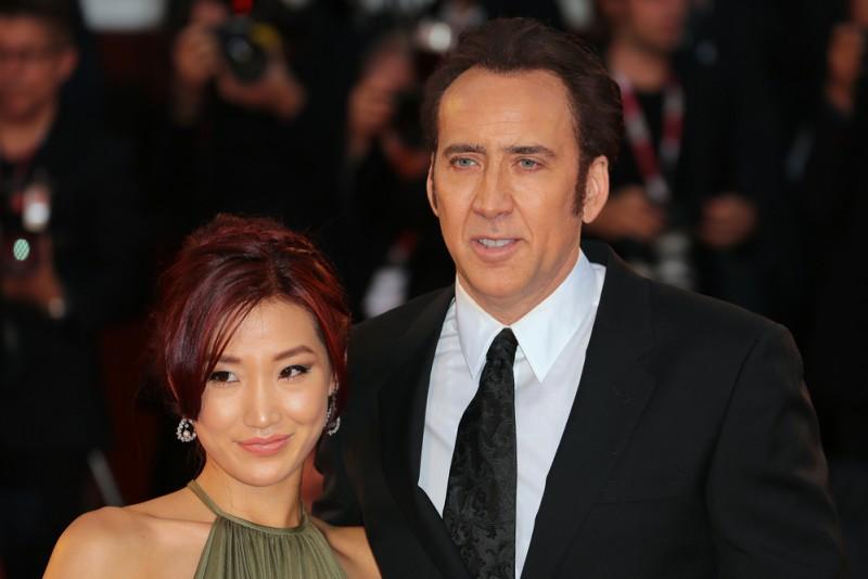 Alice Kim and Nicolas Cage Matteo Chinellato  Shutterstock