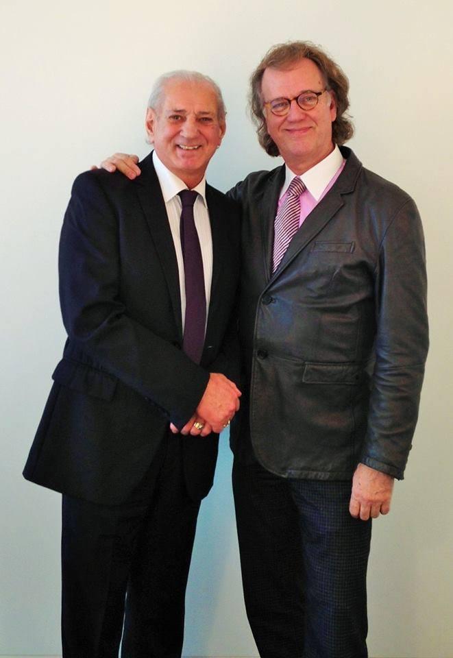 André Rieu si Gheorghe Zamfir
