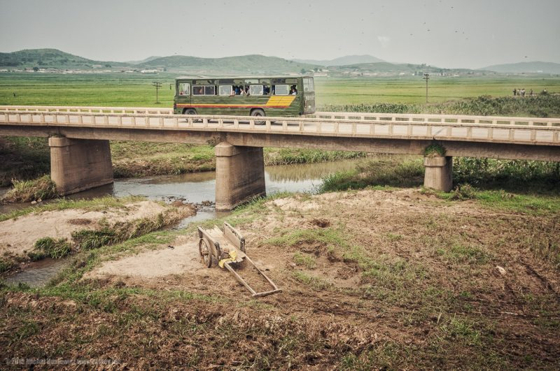 Autobuz in coreea de nord