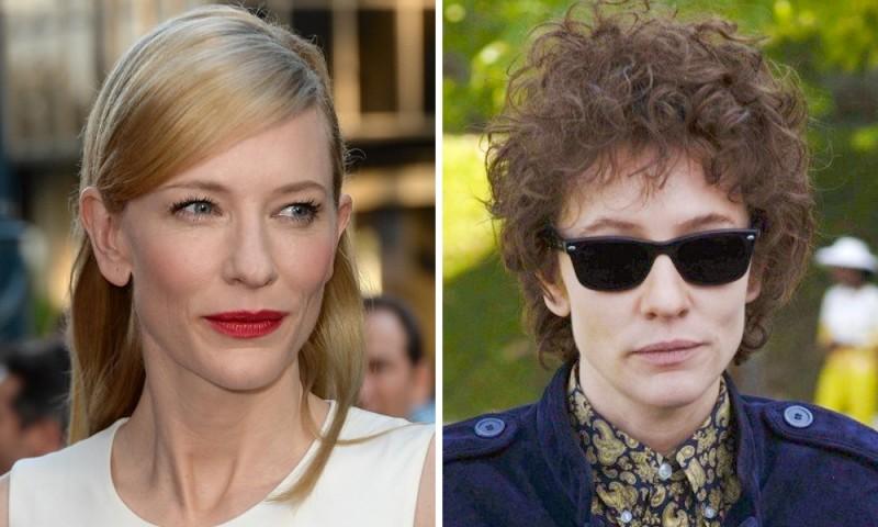 Cate Blanchett Jude Quinn Bob Dylan in 60s