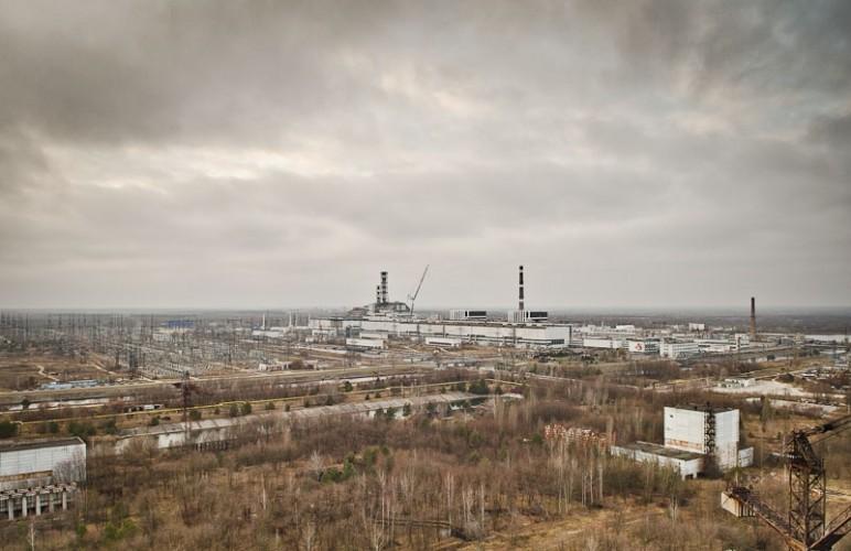 Centrala Atomoelectrica Cernobil in 2015