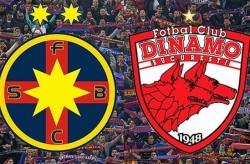 Dinamo a învins Steaua cu 4-1 în Cupa Ligii