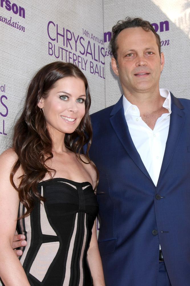 Kyla Weber and Vince Vaughn Helga Esteb  Shutterstock.com