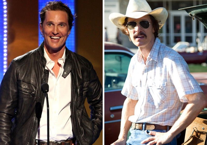 Matthew McConaughey  Ron Woodroof