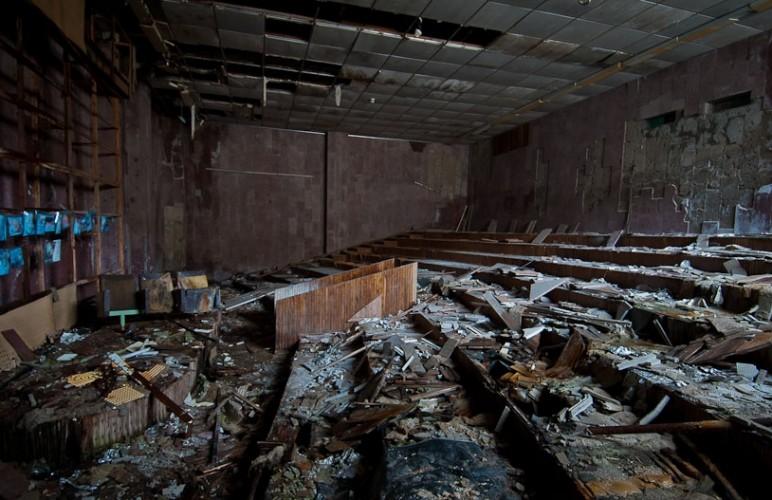 Pripyat la 30 de ani dupa tragedia de la Centrala Atomoelectrica Cernobil - Palatul Culturii