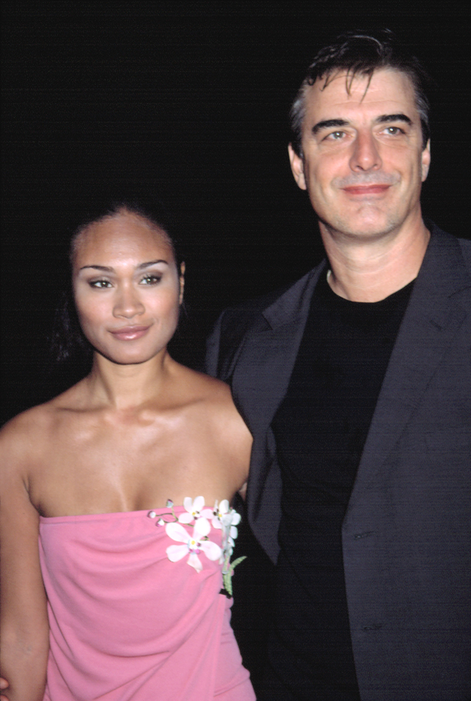 Tara Wilson and Chris Noth Everett Collection  Shutterstock.com