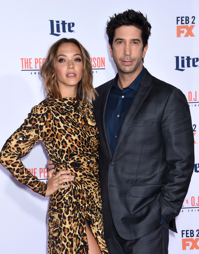 Zoe Buckman and David Schwimmer Ga Fullner  Shutterstock