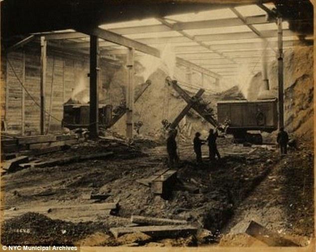 construirea metroului New York (5)