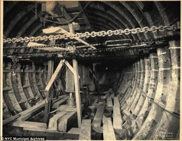 construirea metroului New York (9)
