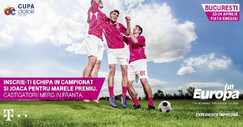 cupa dolce sport in Bucuresti cu Europa-FM