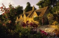 Europe, England, Gloucestershire, Cotswolds, Bibury, Arlington Road