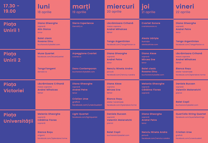 programul  Muzică Clasică la Metrou 4  2016