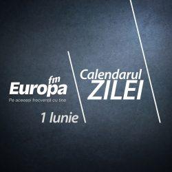 Calendar 1 iunie