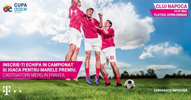 Cupa Dolce Sport la Cluj Napoca