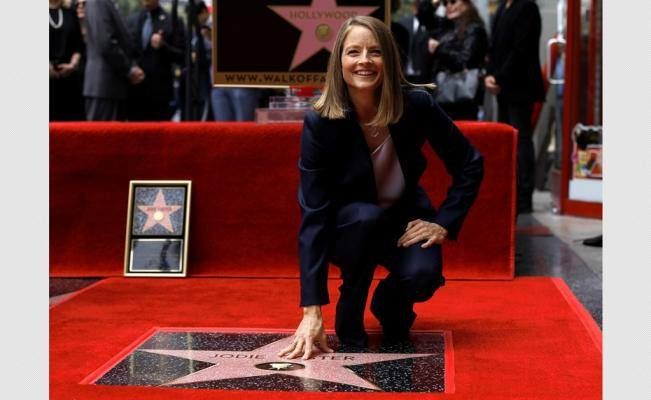 Jodie Foster Walk of Fame din Hollywoo (10)