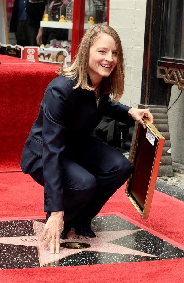 Jodie Foster Walk of Fame din Hollywoo (12)