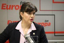 Laura Codruța Kövesi la Interviurile Europa FM – VIDEO