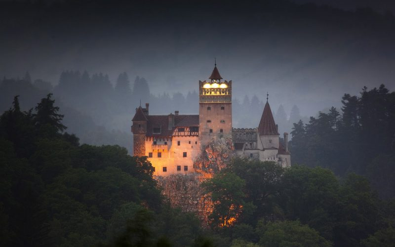 The-Eerie-Bran-Castle-In-Transylvania