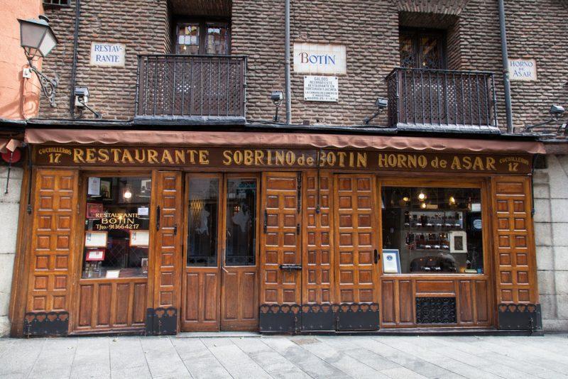 restaurantul Botin Eric Crama Shutterstock