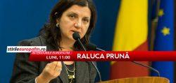 Ministrul Justiţiei, Raluca Prună la Interviurile Europa FM – VIDEO LIVE