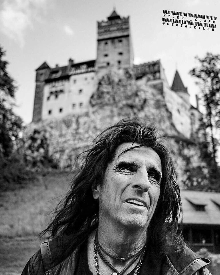 Alice Cooper castelul bran (4)