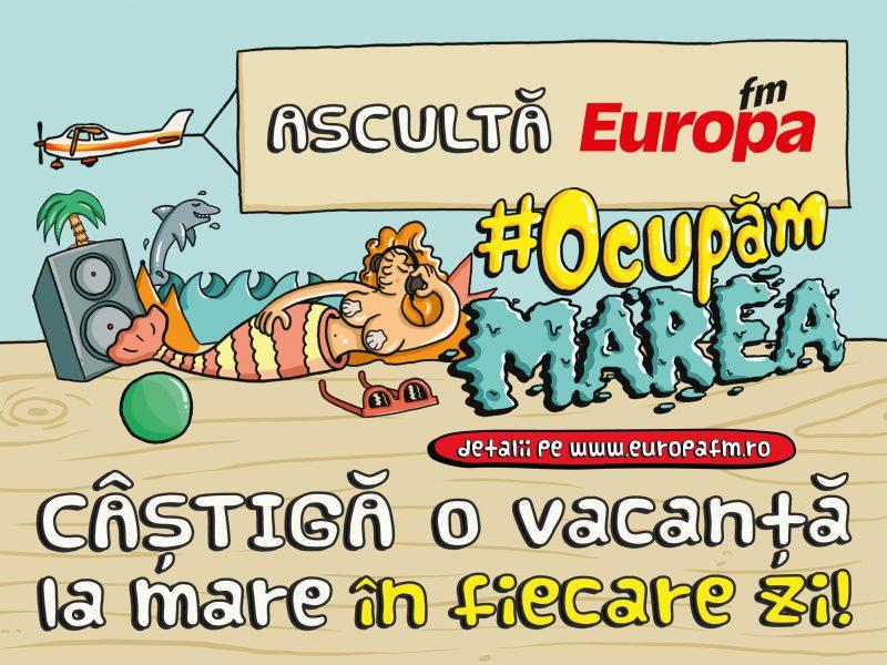 Europa FM - ocupammarea - Castiga o vacanta la mare in fiecare zi