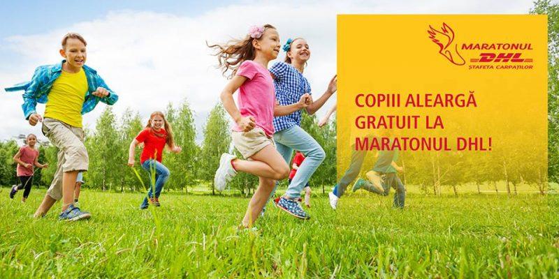 Maratonul Stafeta Carpatilor - copiii alearga gratuit