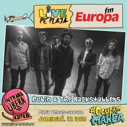 Robin and the Backstabbers, în concert duminică, 31 iulie, la Europa FM Live pe Plajă