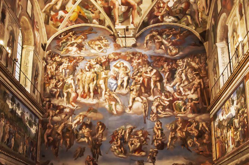 capela sixtina edella shutterstock