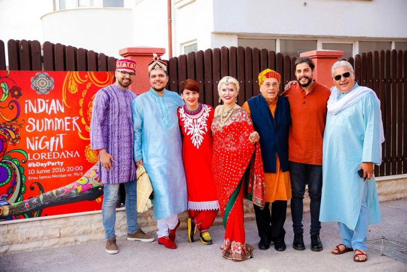 loredana vasile groza si prieteni petrecere indiana