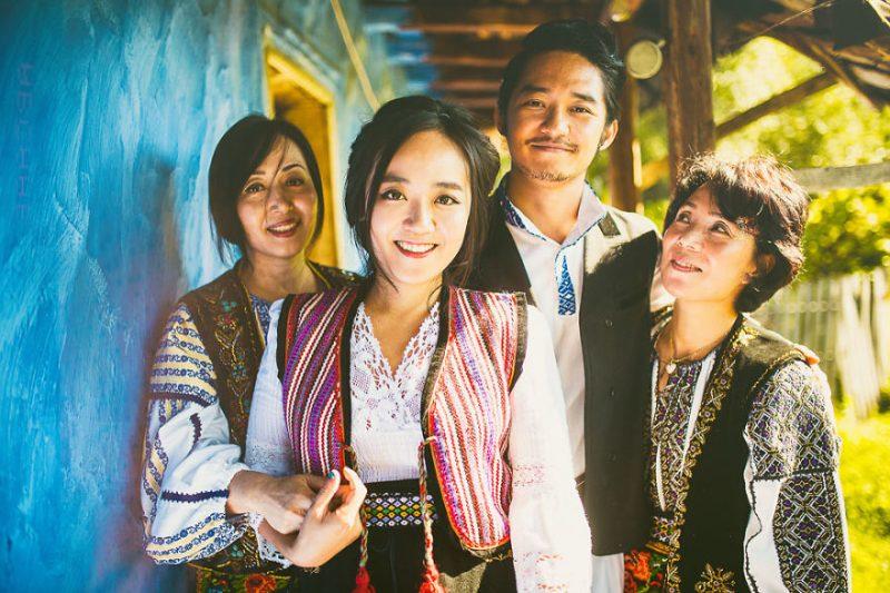 nunta romaneasca sud coreeni (1)
