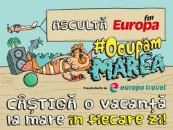 #OcupamMarea Câştigă o vacanţă la mare în fiecare zi!
