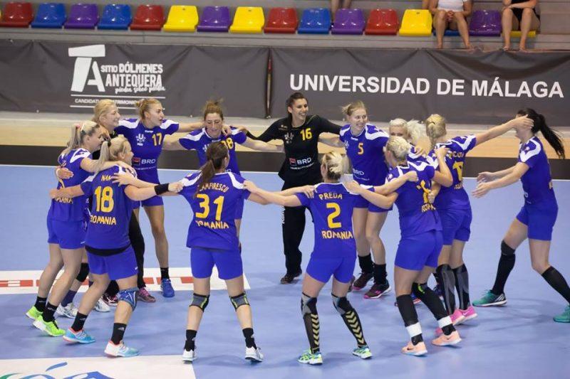 Hora facuta de Romania la WUC Handball 2016 la castigarea semifinalei