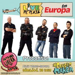 Proconsul te aşteaptă la Europa FM Live pe Plajă – VIDEO