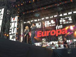 Adi Sînă și Lidia Buble deschid Europa FM Live pe Plajă – VIDEO LIVE