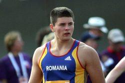 Atletul Rareş Andrei Toader, exclus din lotul olimpic al României după ce a fost găsit dopat