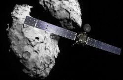 Sonda Rosetta se pregătește să moară