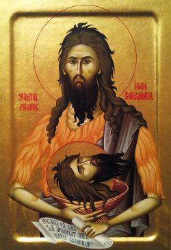 Obiceiuri în ziua de 29 august – Tăierea Capului Sfântului Ioan Botezătorul