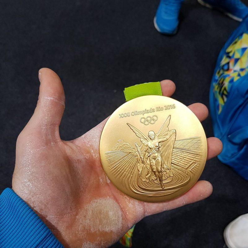 Cum arata mana lui Oleg Verniaiev dupa ce a cucerit aurul olimpic la RIO 2016