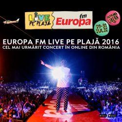 Europa FM Live pe Plajă 2016, cel mai urmărit concert în online din România