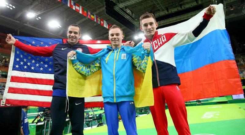 Finala la paralele de la Jocurile Olimpice RIO 2016 - SUA UCRAINA si RUSIA