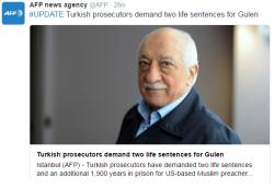 Procurorii turci cer aproape 2 mii de ani de închisoare pentru clericul Fethullah Gulen